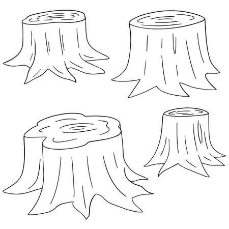 vector set of stump