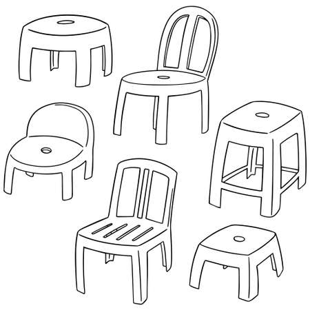 backrest: set of chairs