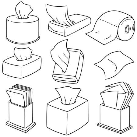 wipe: set of tissue paper