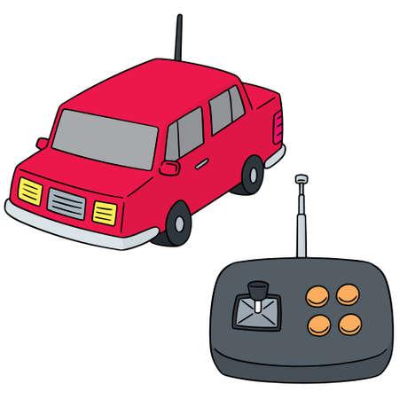 vector set of remote control car Illustration
