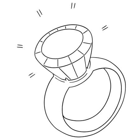 tradition: vector set of wedding ring