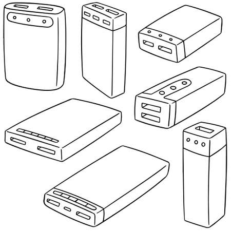 Power banks Illustration