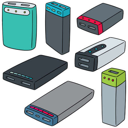 smartphone icon: Power banks Illustration