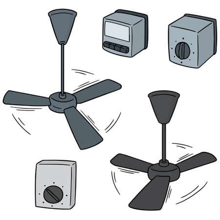 Ventilador De Techo Dibujo Animado