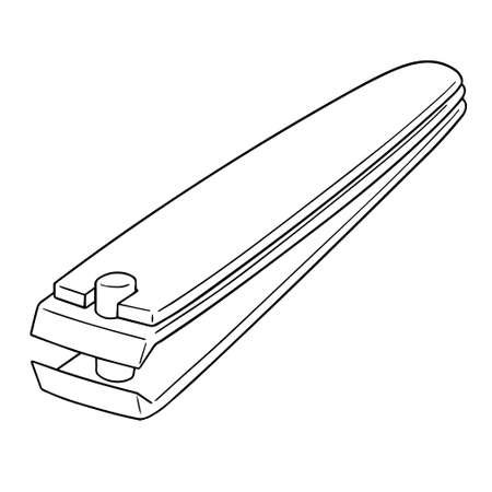vector of nail clipper Иллюстрация