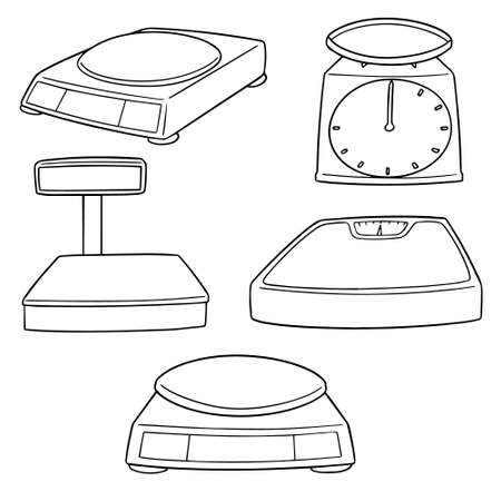 vector set of weighing machines