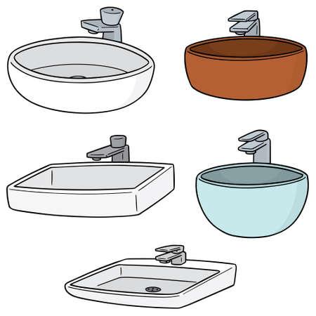 vector set of sink Vettoriali