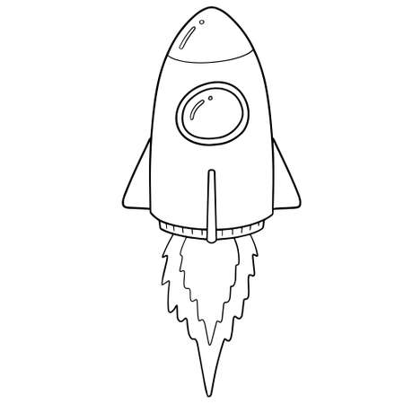 Vector of spaceship