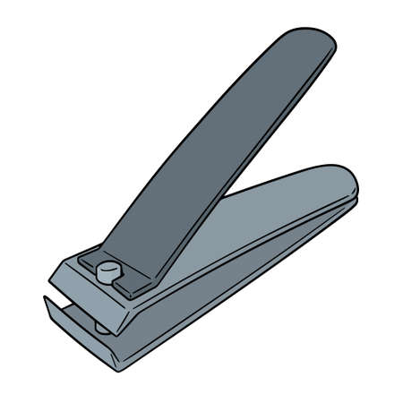Vector of nail clipper Vectores