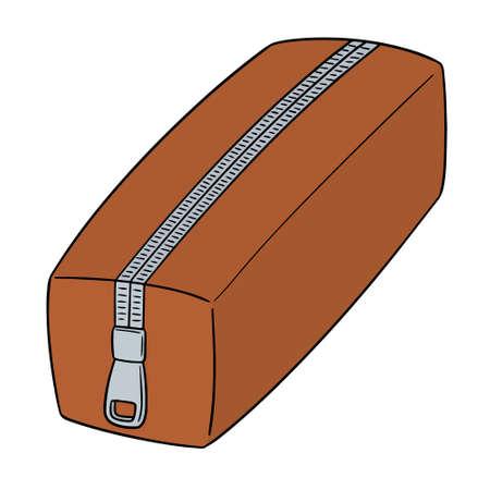 Vector of pencil case