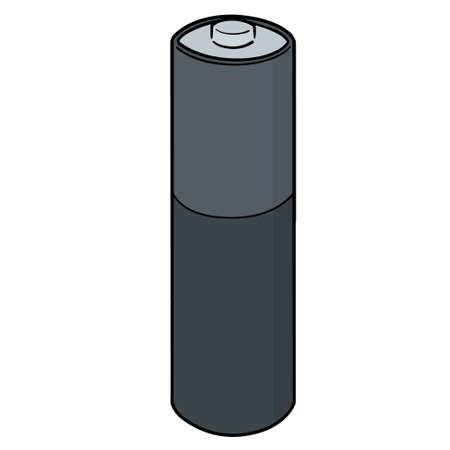 Vector illustration of a battery