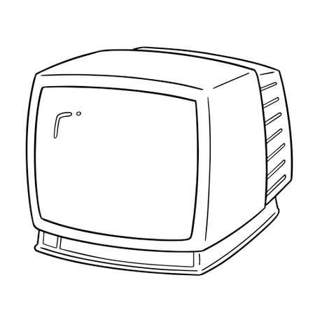 vector de televison Ilustración de vector