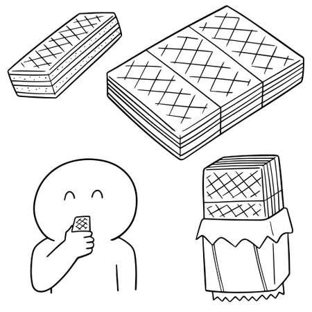 vector set of wafer