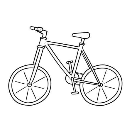 vector of bicycle Stock Illustratie