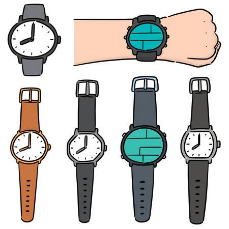 vector set of watch