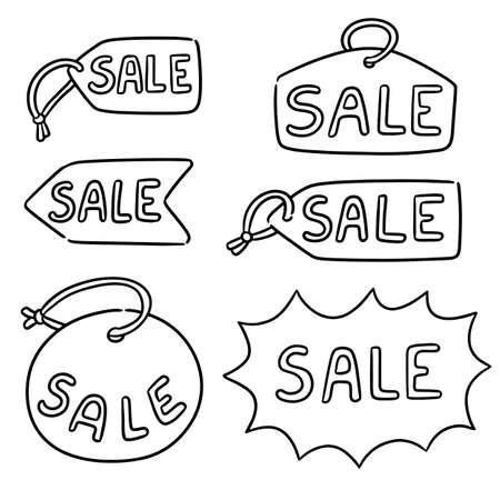 vector set of sale tag 免版税图像 - 151581766