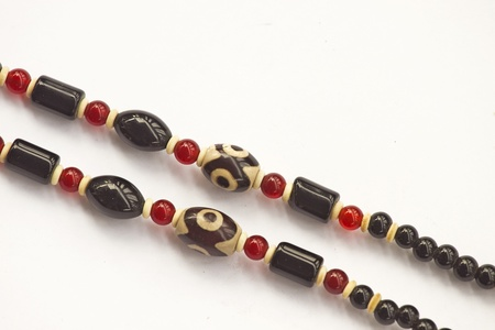grung: grung beads from Thailand Stock Photo
