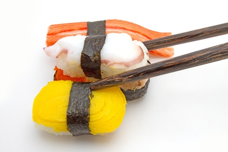 Sushi is a food  Stock Photo