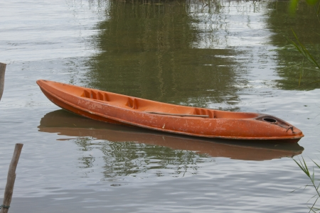 kayak in the lake of thailand  Stock Photo