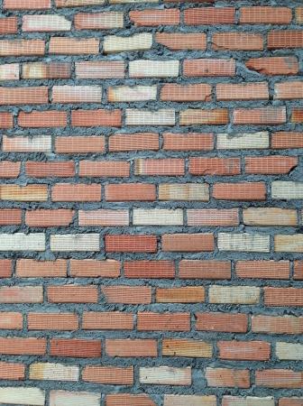 brick wall and building