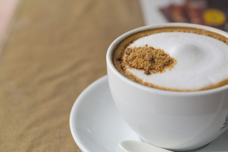 A coffee in the cup. Stock Photo