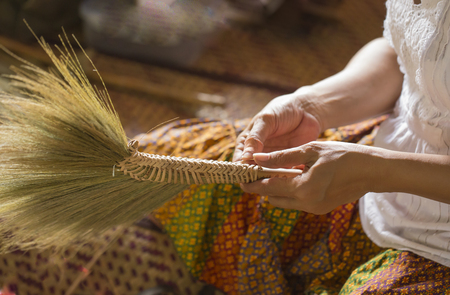 a woman is hand made.