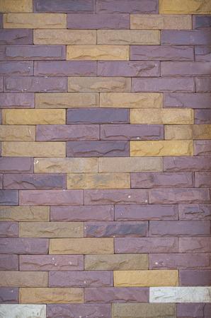 The brick wall.