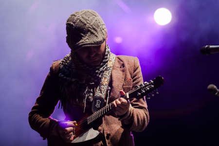 Calle 13 in live concert at the Quitumbe Fair in Quito Ecuador. 2010