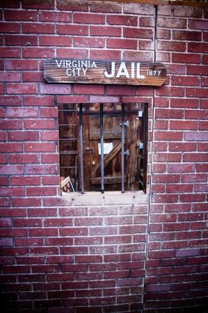 carcel: Salvaje Oeste americano viejo estilo ventana cárcel