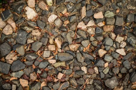 Assorted colorful rocks to be used as texture or background photo