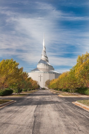 mormon: INDEPENDENCE,MOUSA – OCTOBER 19TH: The Temple  is the first site to be dedicated in the Latter Day Saint movement. Dedicated on August 3, 1831 by  Joseph Smith, Jr. October, 19 2008.