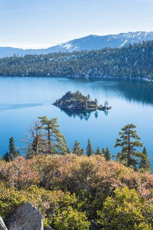 fannette: Emerald Bay in Lake Tahoe overlooking Fannette Island