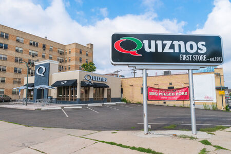founded: Denver, USA - July 27th, 2014  The Quiznos restaurant chain was founded in 1981 by Jimmy Lambatos and sold to Rick and Richard Schaden in 1991 On March 14, 2014, Quiznos filed for Chapter 11 Bankruptcy
