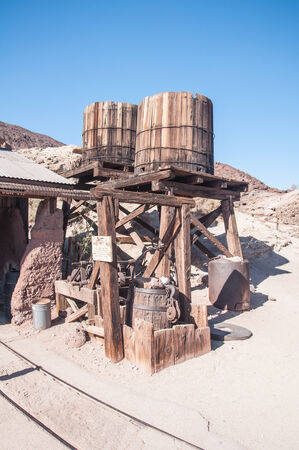 JUNE 22. 2010- Calico, CA:Calico is a ghost town and former mining town in San Bernardino County, California, United States. Was founded in 1881 as a silver mining town, and today has been converted into a county park. Editöryel