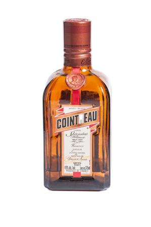 Reno, USA, : December, 2nd 2011: Bottle of international liquor: Cointreau
