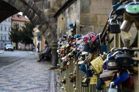 Love Locks at a bridge
