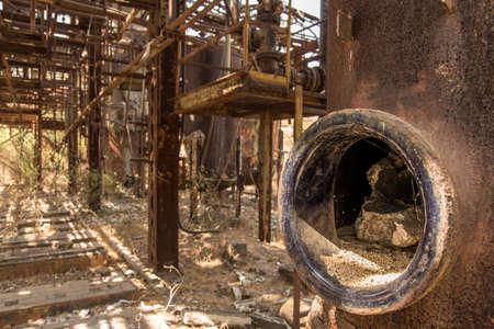Abandoned Union Carbide Pesticide Factory, Bhopal, India