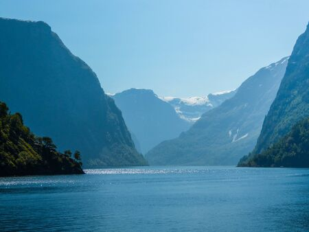 The Sognefjord, nicknamed the King of the Fjords, is the largest and deepest fjord in Norway