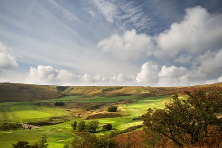 Golf Course in Autumn Halifax UK photo