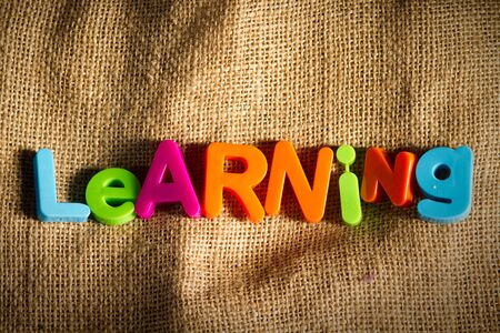 Learning Dictionary Definition Low key close up Stock Photo - 9010422