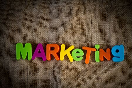 Marketing Dictionary Definition Low key close up Stock Photo - 9010426