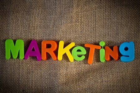 Marketing Dictionary Definition Low key close up Stock Photo - 9111428