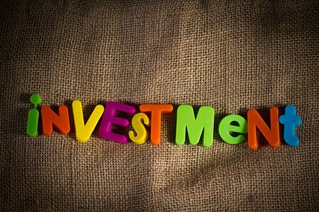 Investment Dictionary Definition Low key close up Stock Photo - 9407838