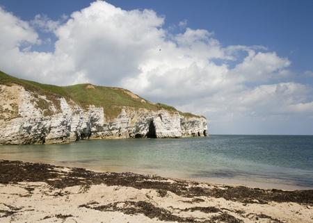 Flamborough head beautiful Yorkshire Coastline scenic coast photo