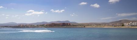 Fuerteventura Canary Islands spain beautiful Panoramic view Stock Photo
