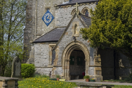 dales: A beautiful church in the yorkshire dales Stock Photo