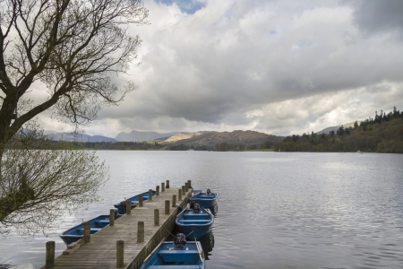 A beautiful landscape of Lake Windermere Cumbria Stock Photo - 14739583