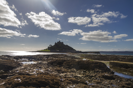 St Michael's Mount in  Cornwall  UK Europe photo