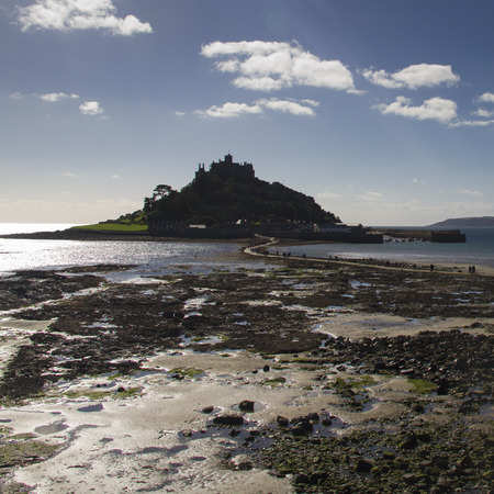 mount saint michael: St Michaels Mount in  Cornwall  UK Europe