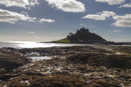 St Michaels Mount in  Cornwall  UK Europe photo